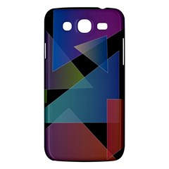 Triangle Gradient Abstract Geometry Samsung Galaxy Mega 5 8 I9152 Hardshell Case  by BangZart