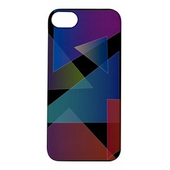 Triangle Gradient Abstract Geometry Apple Iphone 5s/ Se Hardshell Case by BangZart