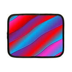 Diagonal Gradient Vivid Color 3d Netbook Case (small)  by BangZart