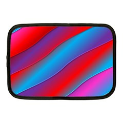 Diagonal Gradient Vivid Color 3d Netbook Case (medium)  by BangZart