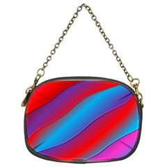 Diagonal Gradient Vivid Color 3d Chain Purses (two Sides)  by BangZart