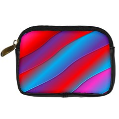 Diagonal Gradient Vivid Color 3d Digital Camera Cases by BangZart