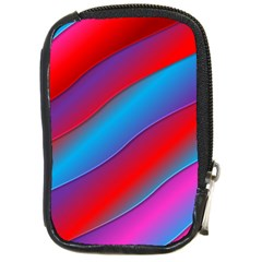 Diagonal Gradient Vivid Color 3d Compact Camera Cases by BangZart