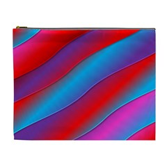 Diagonal Gradient Vivid Color 3d Cosmetic Bag (xl) by BangZart