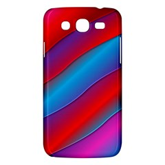 Diagonal Gradient Vivid Color 3d Samsung Galaxy Mega 5 8 I9152 Hardshell Case  by BangZart