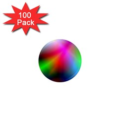 Course Gradient Background Color 1  Mini Magnets (100 Pack)