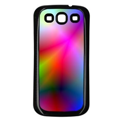 Course Gradient Background Color Samsung Galaxy S3 Back Case (black)