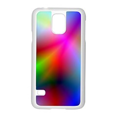 Course Gradient Background Color Samsung Galaxy S5 Case (white)
