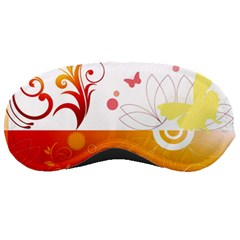 Spring Butterfly Flower Plant Sleeping Masks