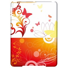 Spring Butterfly Flower Plant Apple Ipad Pro 9 7   Hardshell Case by BangZart