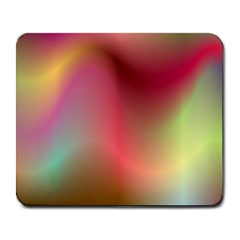 Colorful Colors Wave Gradient Large Mousepads