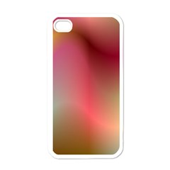 Colorful Colors Wave Gradient Apple Iphone 4 Case (white)