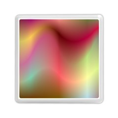 Colorful Colors Wave Gradient Memory Card Reader (square)  by BangZart