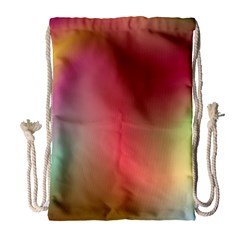Colorful Colors Wave Gradient Drawstring Bag (large) by BangZart