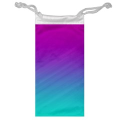 Background Pink Blue Gradient Jewelry Bag