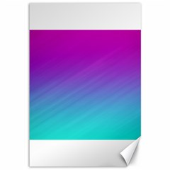 Background Pink Blue Gradient Canvas 12  X 18   by BangZart
