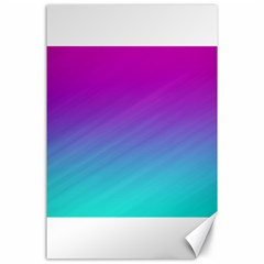 Background Pink Blue Gradient Canvas 24  X 36