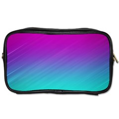 Background Pink Blue Gradient Toiletries Bags