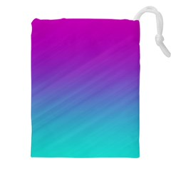 Background Pink Blue Gradient Drawstring Pouches (xxl) by BangZart