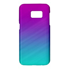 Background Pink Blue Gradient Samsung Galaxy S7 Hardshell Case