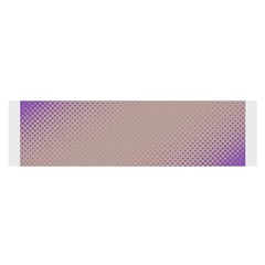 Pattern Template Banner Background Satin Scarf (oblong)