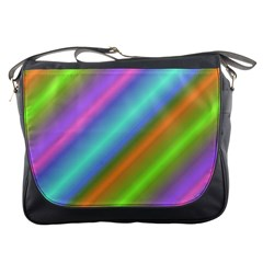 Background Course Abstract Pattern Messenger Bags