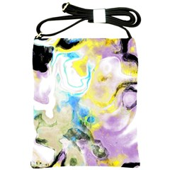 Watercolour Watercolor Paint Ink Shoulder Sling Bags by BangZart