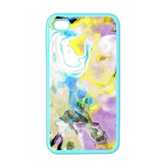Watercolour Watercolor Paint Ink Apple Iphone 4 Case (color)