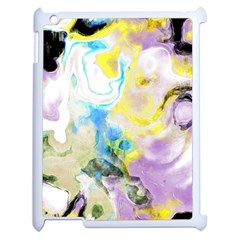Watercolour Watercolor Paint Ink Apple Ipad 2 Case (white) by BangZart