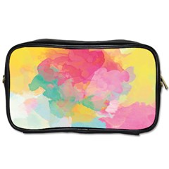 Watercolour Gradient Toiletries Bags 2 Side