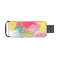 Watercolour Gradient Portable Usb Flash (two Sides)