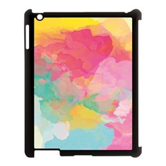 Watercolour Gradient Apple Ipad 3/4 Case (black)