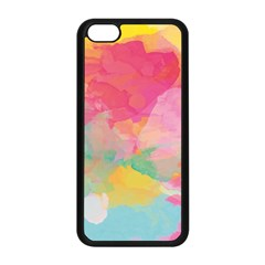 Watercolour Gradient Apple Iphone 5c Seamless Case (black) by BangZart