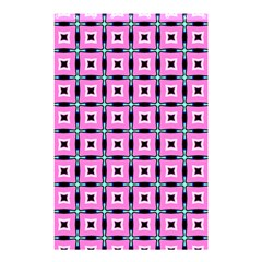 Pattern Pink Squares Square Texture Shower Curtain 48  X 72  (small)  by BangZart