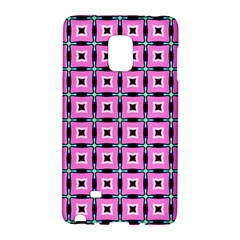 Pattern Pink Squares Square Texture Galaxy Note Edge by BangZart