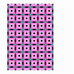 Pattern Pink Squares Square Texture Small Garden Flag (two Sides)