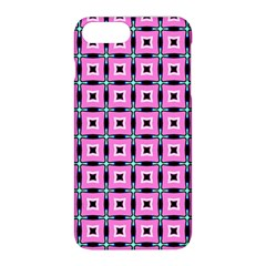 Pattern Pink Squares Square Texture Apple Iphone 8 Plus Hardshell Case