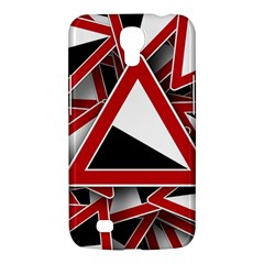 Road Sign Auto Gradient Down Below Samsung Galaxy Mega 6 3  I9200 Hardshell Case