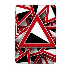 Road Sign Auto Gradient Down Below Samsung Galaxy Tab 2 (10 1 ) P5100 Hardshell Case