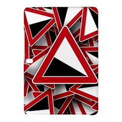 Road Sign Auto Gradient Down Below Samsung Galaxy Tab Pro 12 2 Hardshell Case