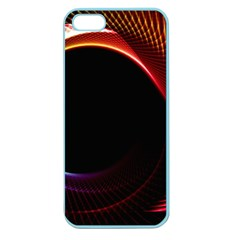 Grid Bent Vibration Ease Bend Apple Seamless Iphone 5 Case (color)