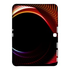 Grid Bent Vibration Ease Bend Samsung Galaxy Tab 4 (10 1 ) Hardshell Case