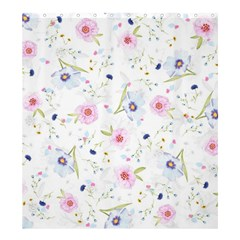 Floral Pattern Background Shower Curtain 66  X 72  (large)  by BangZart
