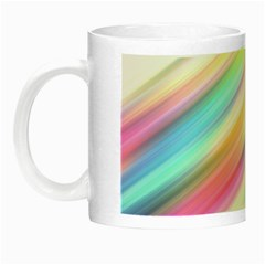 Background Course Abstract Pattern Night Luminous Mugs