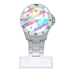 Background Course Abstract Pattern Plastic Nurses Watch