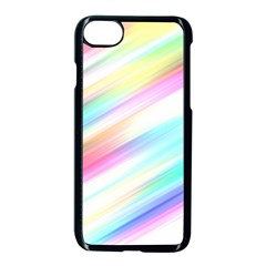 Background Course Abstract Pattern Apple Iphone 8 Seamless Case (black)