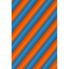 Diagonal Stripes Striped Lines 5 5  X 8 5  Notebooks
