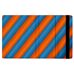 Diagonal Stripes Striped Lines Apple Ipad Pro 12 9   Flip Case