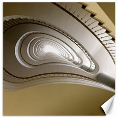 Staircase Berlin Architecture Canvas 12  X 12   by BangZart