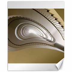 Staircase Berlin Architecture Canvas 11  X 14
